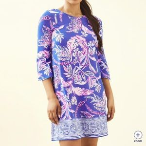 Lilly Pultizer Ophelia dress in wild within XL